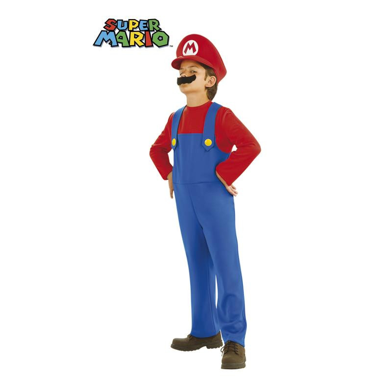 Mario Disfarce Infantil