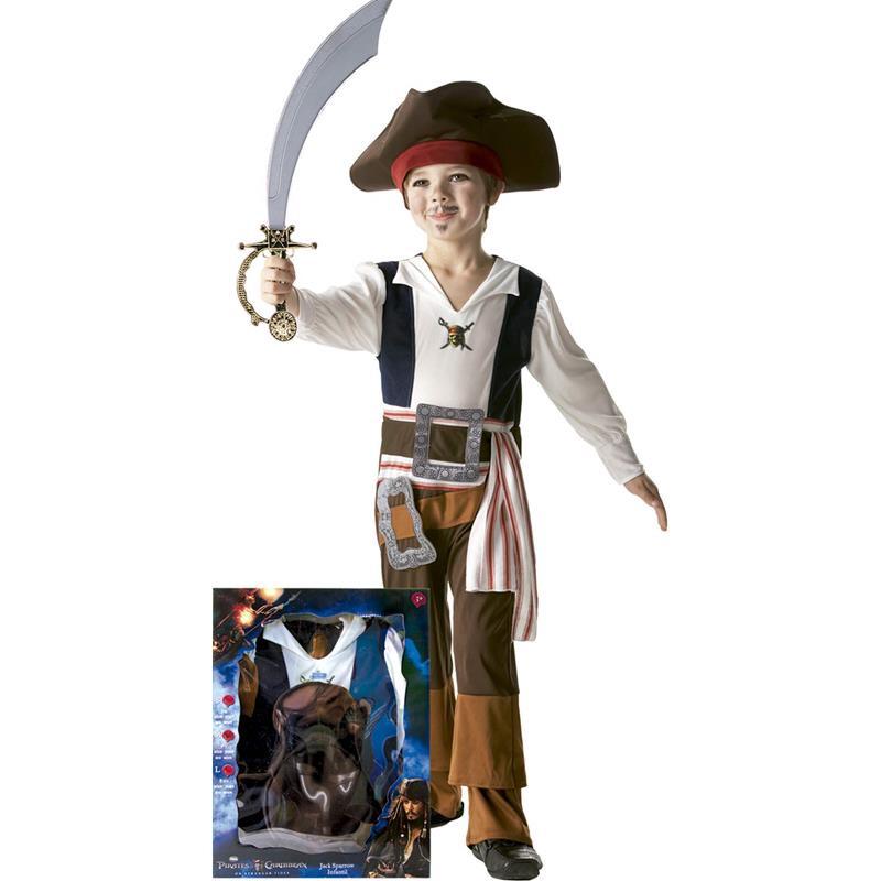 Disfarce pirata Jack Sparrow