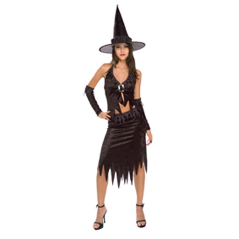 Disfarce Bruxa meia noite adulto