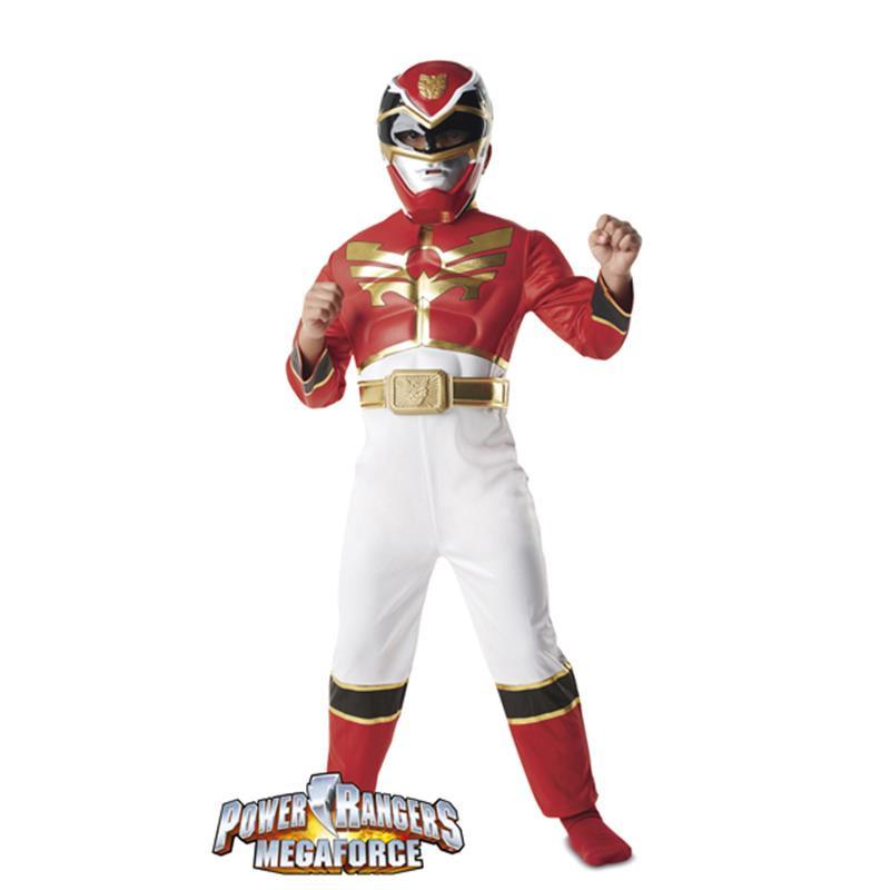 Power Ranger Disfarce Mf Musculoso Infantil