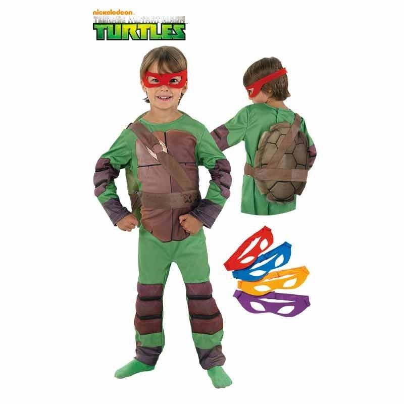 Disfarce Tartarugas Ninja deluxe infantil em Caixa