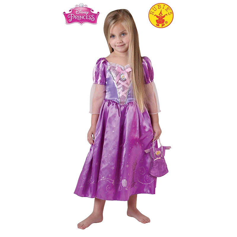 Disfarce Rapunzel Royal infantil