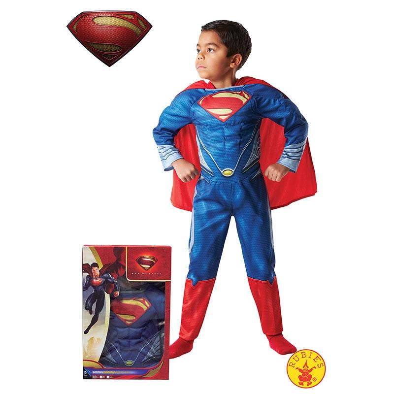 Disfarce Superman musculoso cx inf