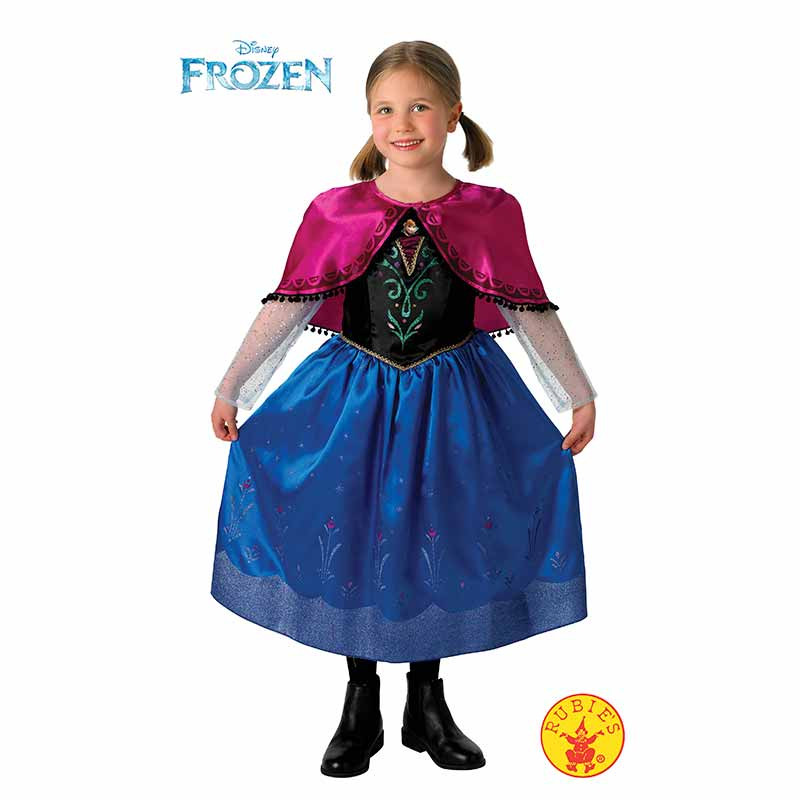 Disfarce Anna Frozen deluxe inf