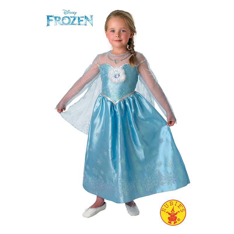 Disfarce Elsa Frozen deluxe inf