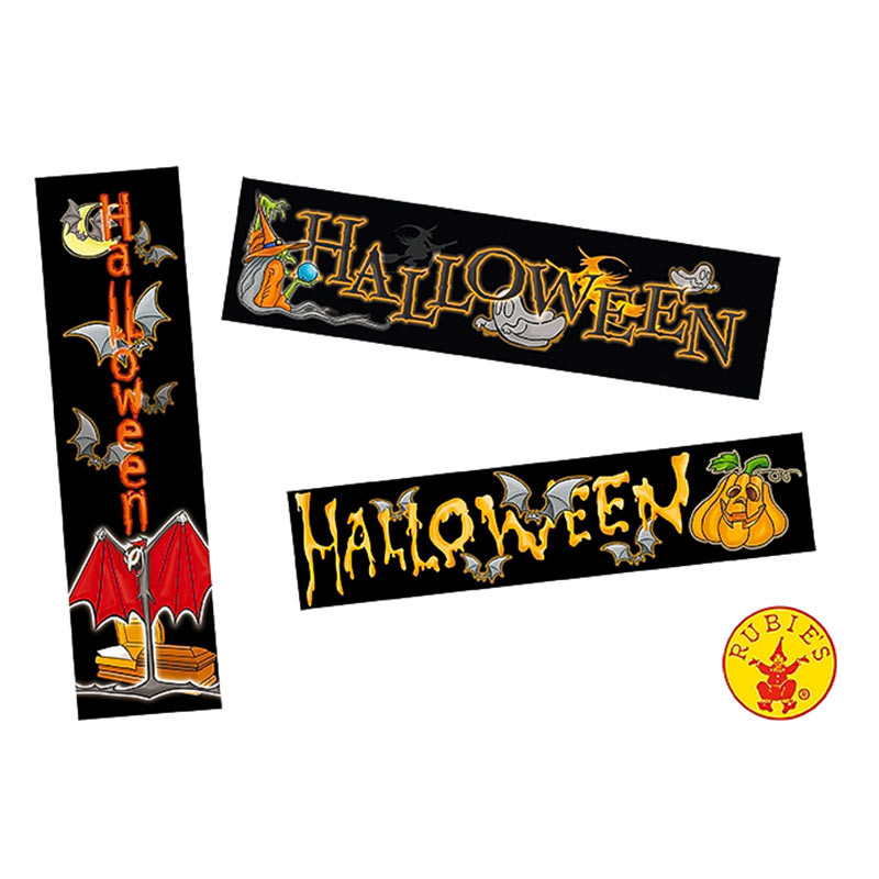 Pack 3 Cartazes Halloween