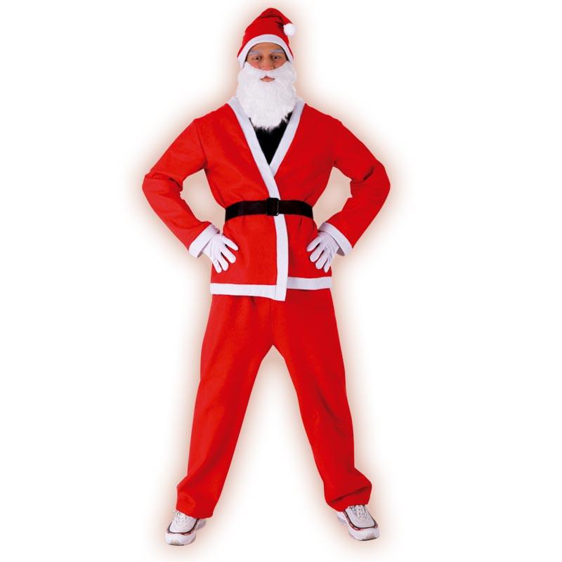 Disfarce Pai Natal adulto T/U