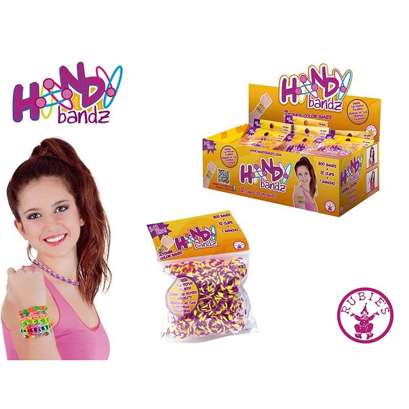 Handy 2-tones colors bandz (bolsa 300 u)