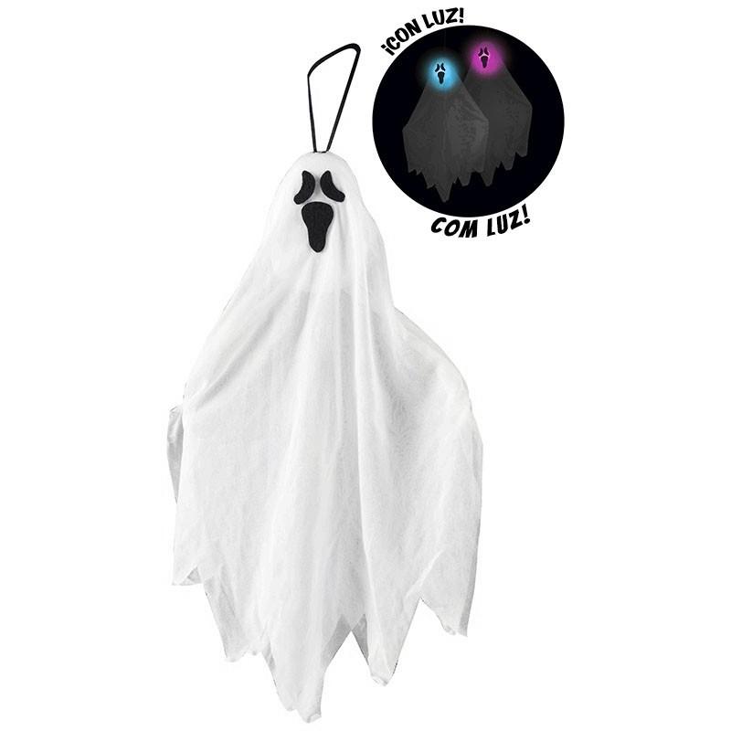 Fantasma Pendurar 50 cm com Luz