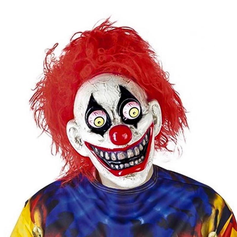 Máscara The Clown com Olhos Móveis