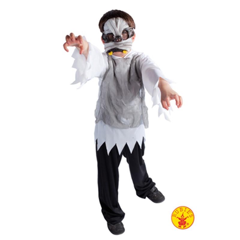 Disfarce mumia com máscara inf