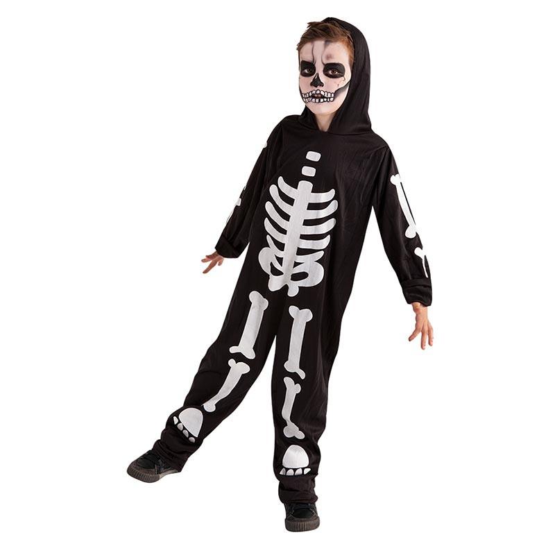 Disfarce Skeleto Glow In Dark Inf