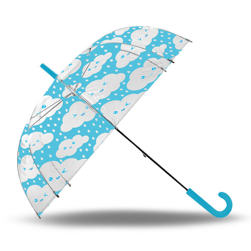 Guarda-chuva transparente auto 52 cm