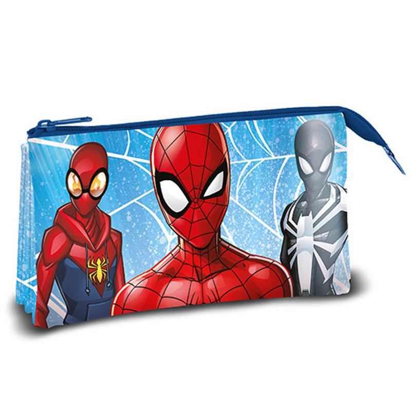 Estojo triplo Spiderman
