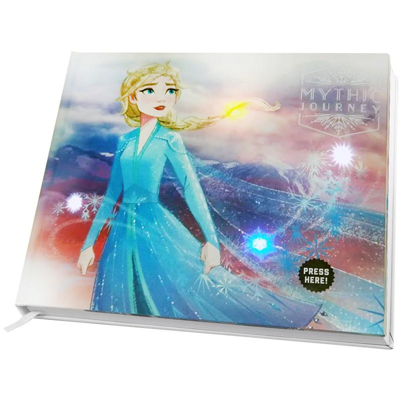 Notebook com luzes e som Frozen II