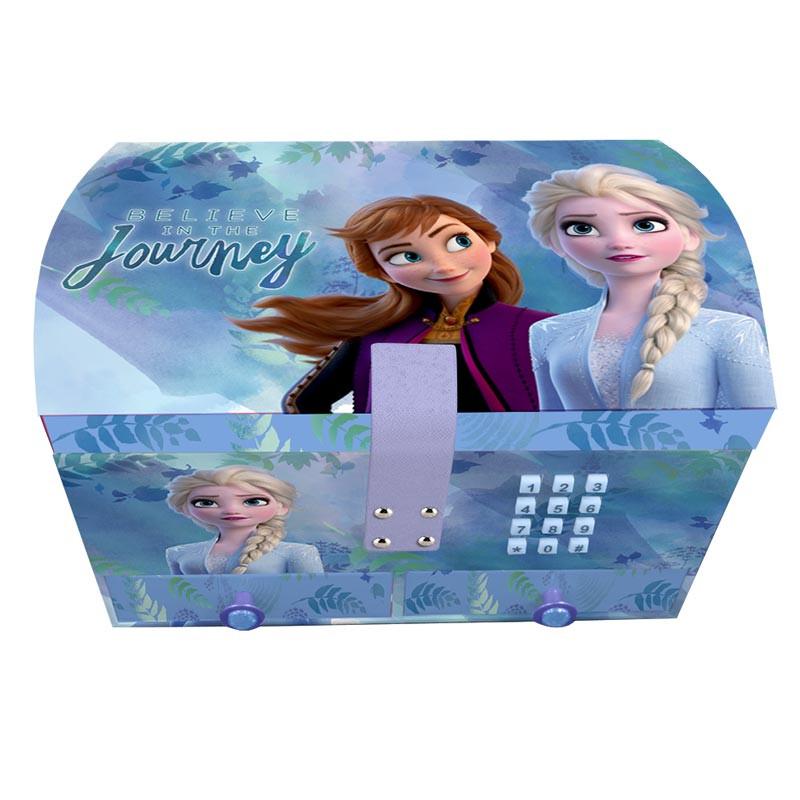 Caixa de jóias secreta com música Frozen II