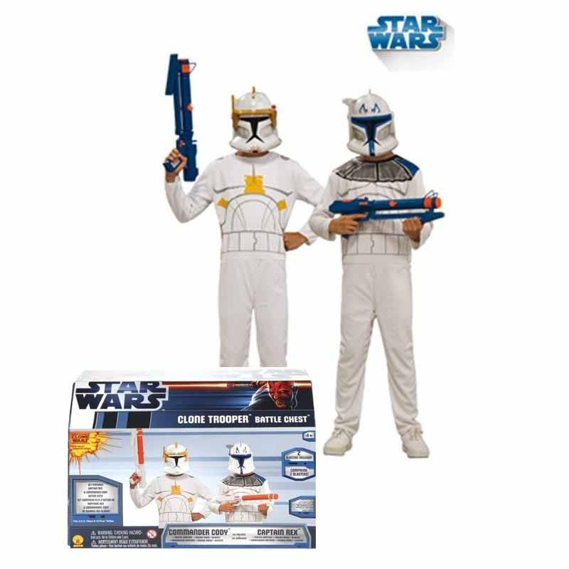 Disfarce Star Wars Cofre Clone