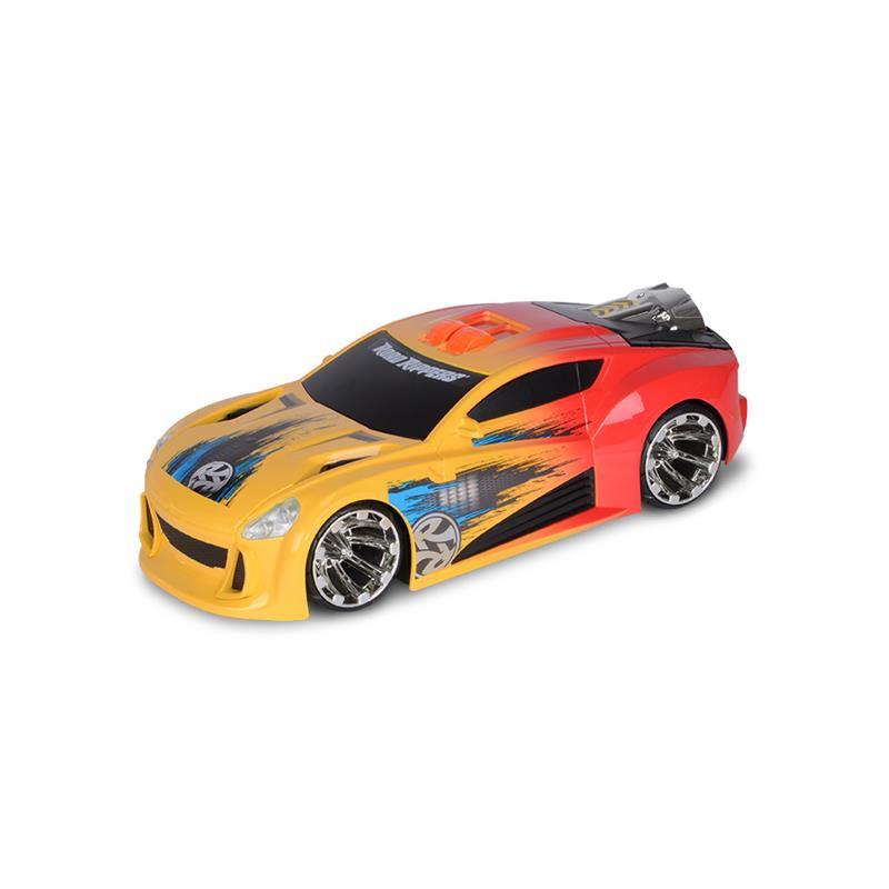 Carro Maximun Boost amarelo e laranja