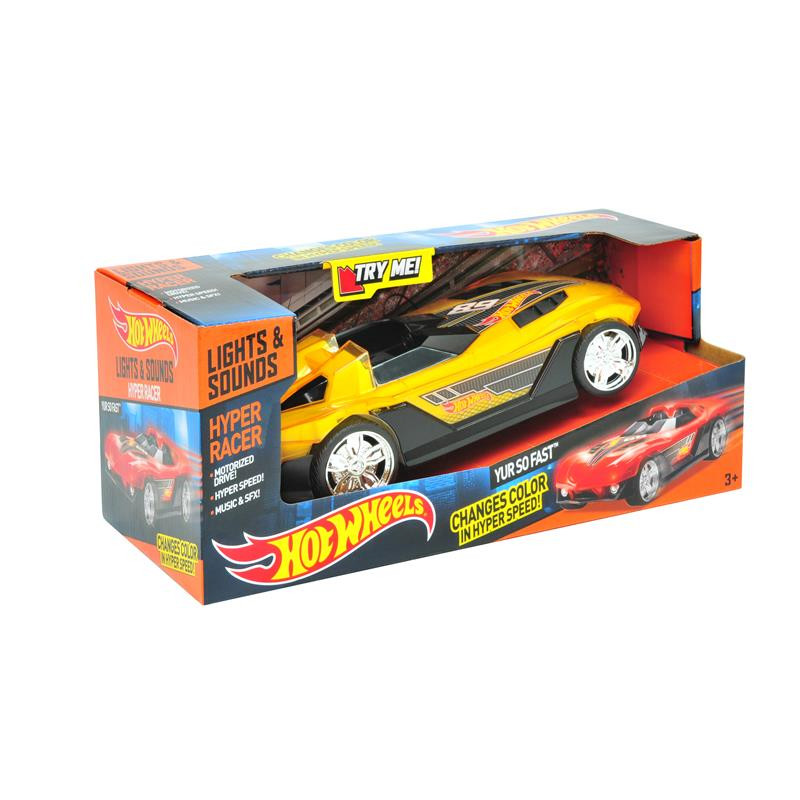Hot Wheels Hyper racer so fast