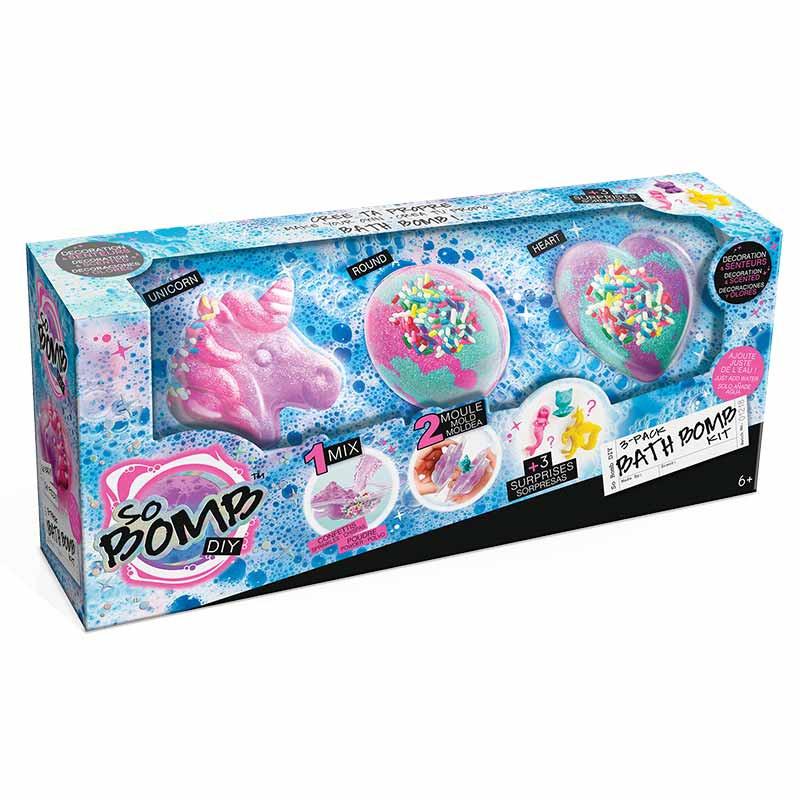 Kit Bombas de Banho 3 Pacotes