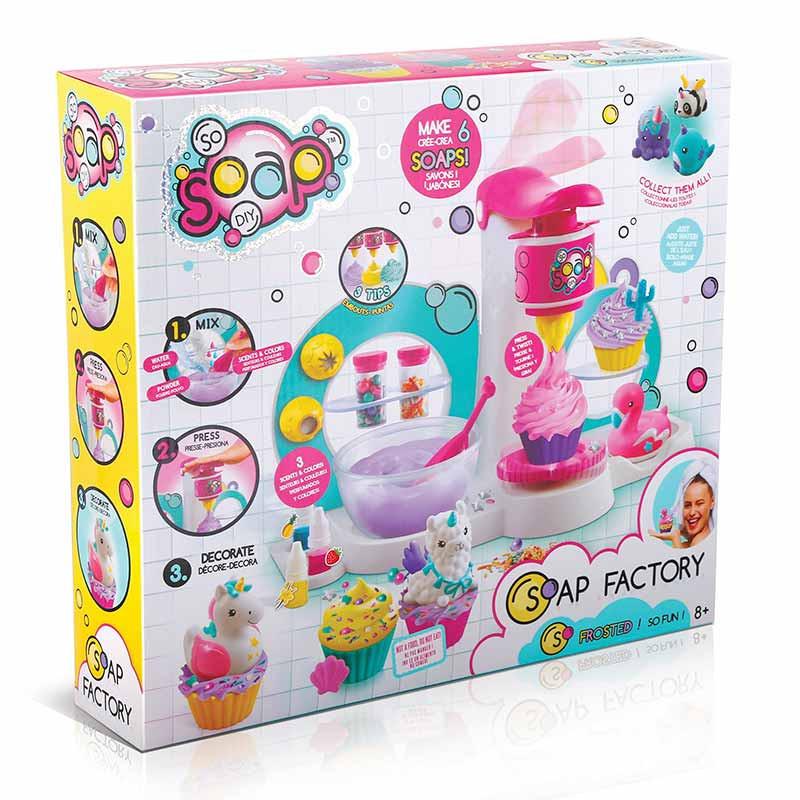 Soap Factory cupcakes de sabão