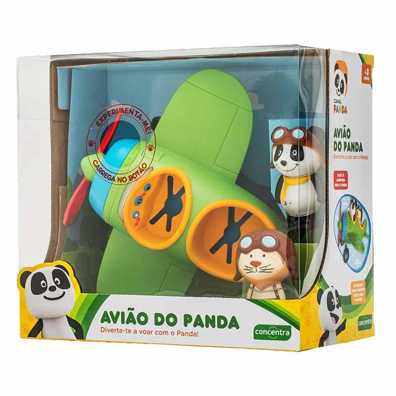 Canal Panda Avião com figuras