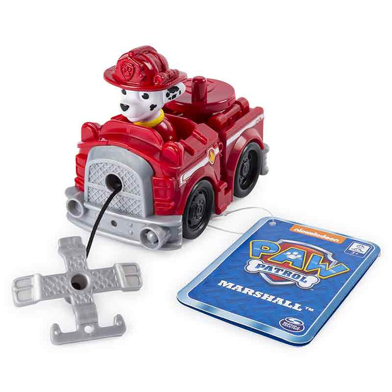 Paw Patrol - Mini Veículos Feature Marshal