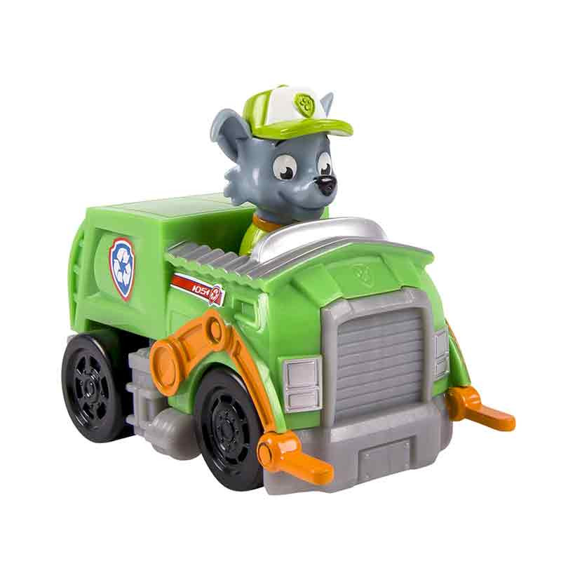 Paw Patrol - Mini Veículos Rocky Recycling