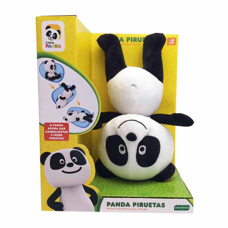Panda - Peluche Piruetas
