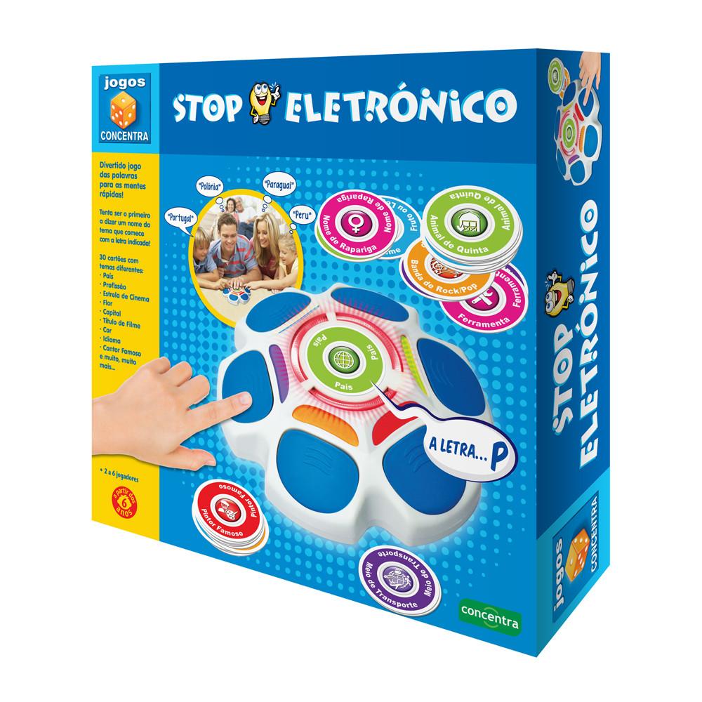 Jogos Concentra - Stop Eletrónico