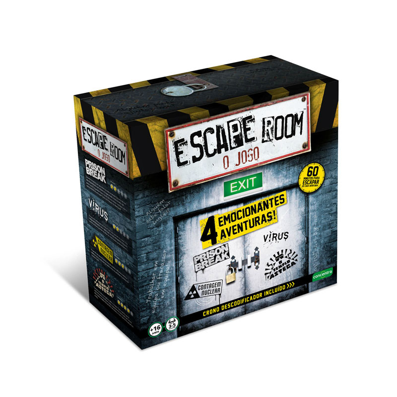 Jogos Concentra - Escape Room