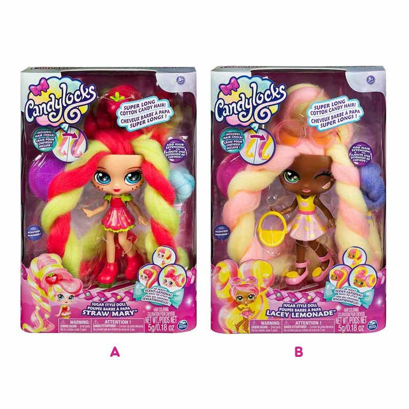 Candy Locks Bonecas Deluxe