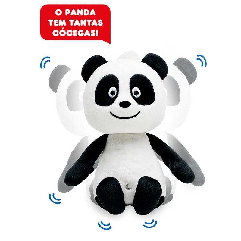 Panda Peluche com Cócegas
