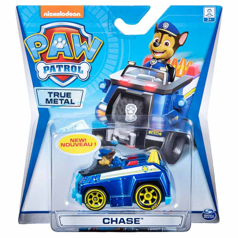 Patrulha Pata veículo die cast Chase police