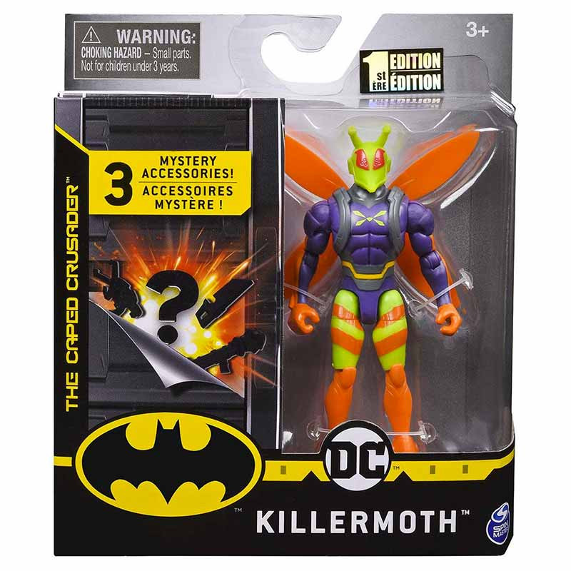 Batman Figura básica Killer Moth 10cm
