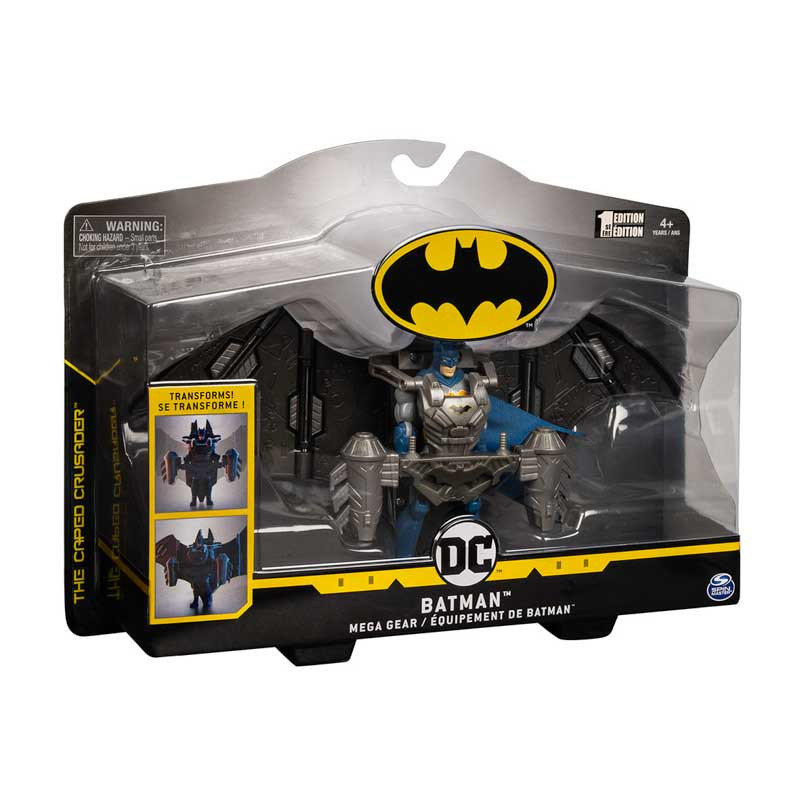 Batman figura básica Batman Mega Gear 10cm