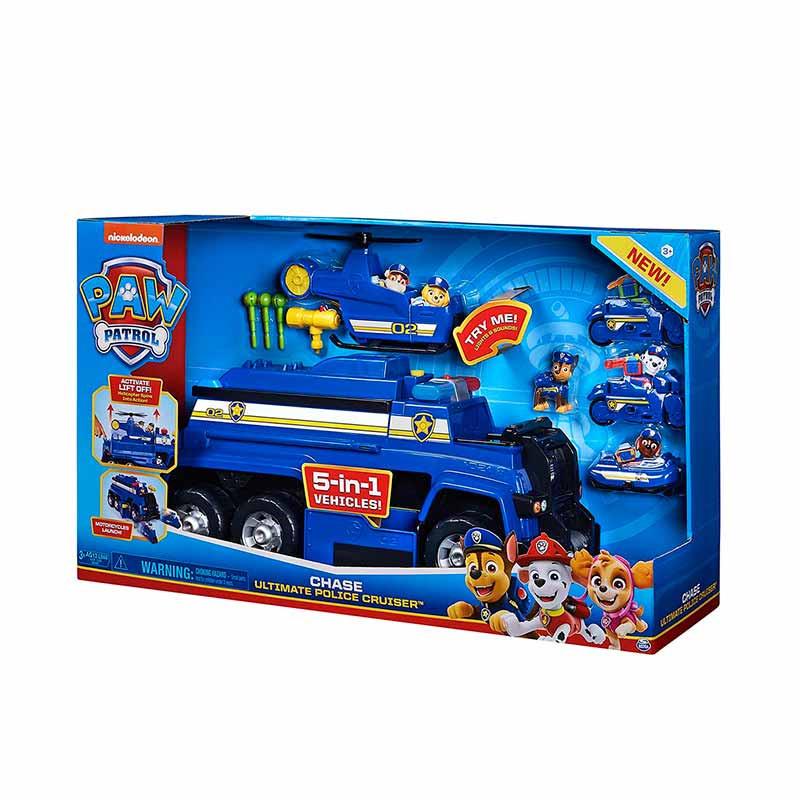 Patrulha Pata- Camião de Polícia Deluxe