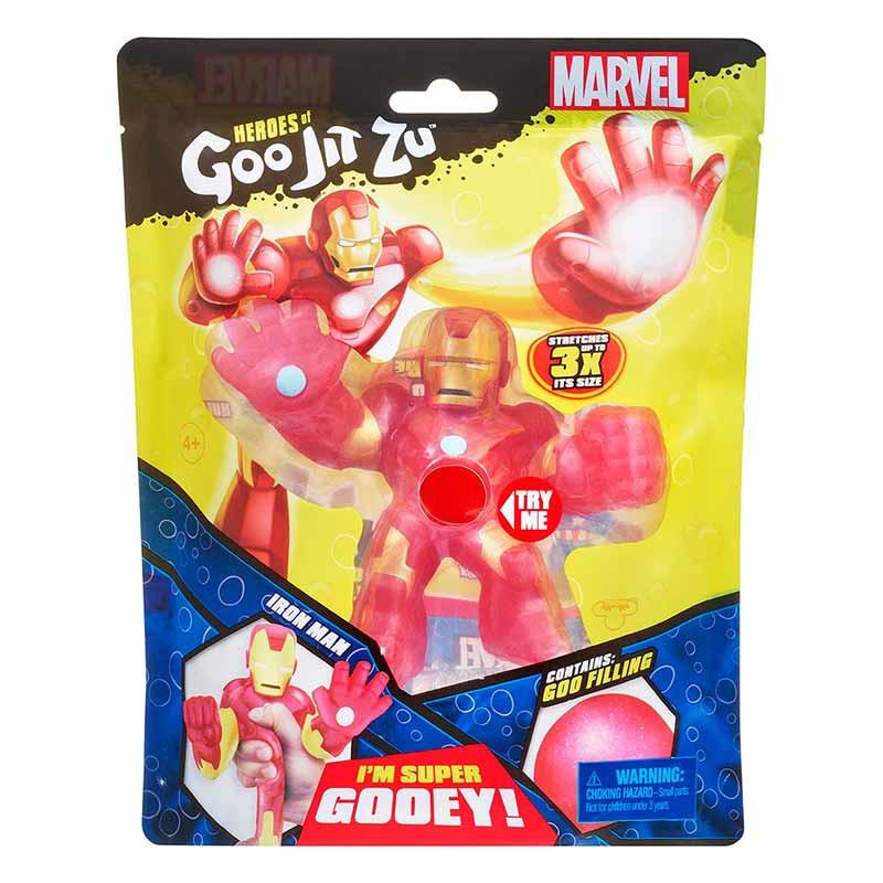 Goo Jit Zu Figuras Marvel