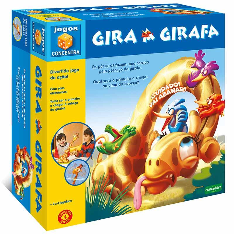Jogos Concentra Gira a Girafa