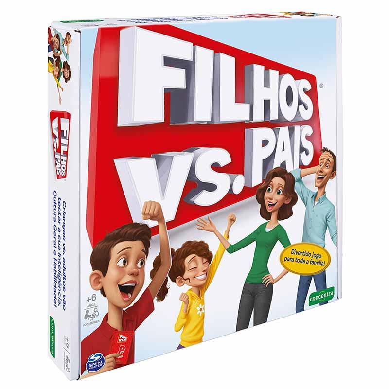 Jogos Concentra - Filhos vs Pais