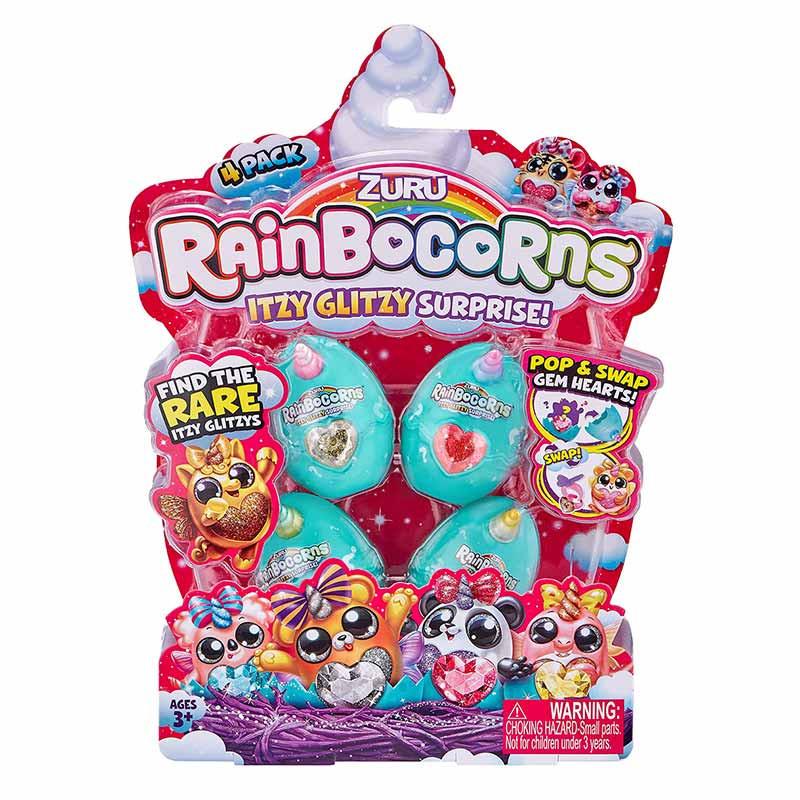 Mini Rainbocorns Pack 4 Figuras
