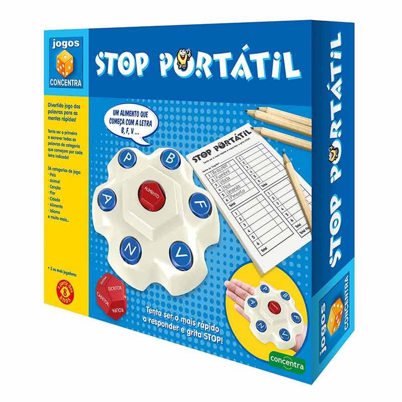 Jogos Concentra Stop Portátil