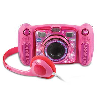 Kidizoom - Camera Duo com MP3 Rosa