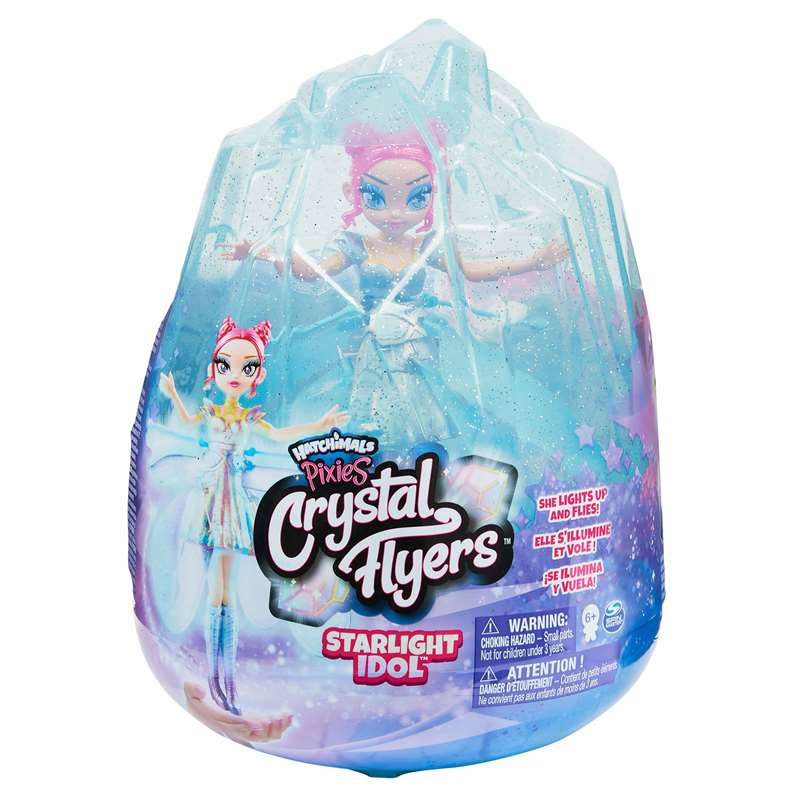 Crystal Flyers Fadas Voadoras Pop Star