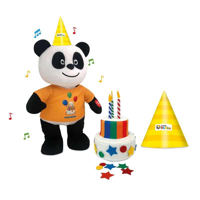 Panda - Peluche Parabéns