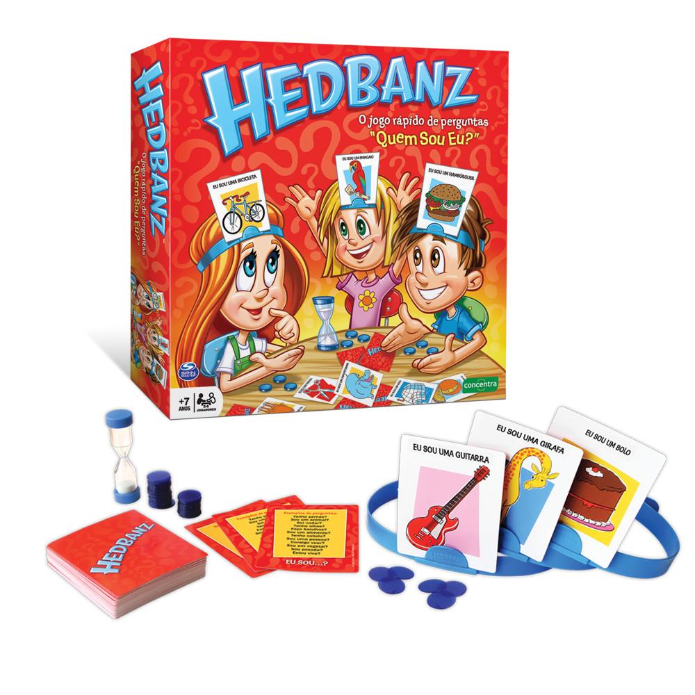 Jogos Concentra - Hedbanz