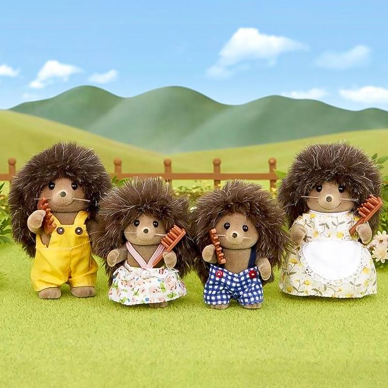 Sylvanian Families família dos Ouriços