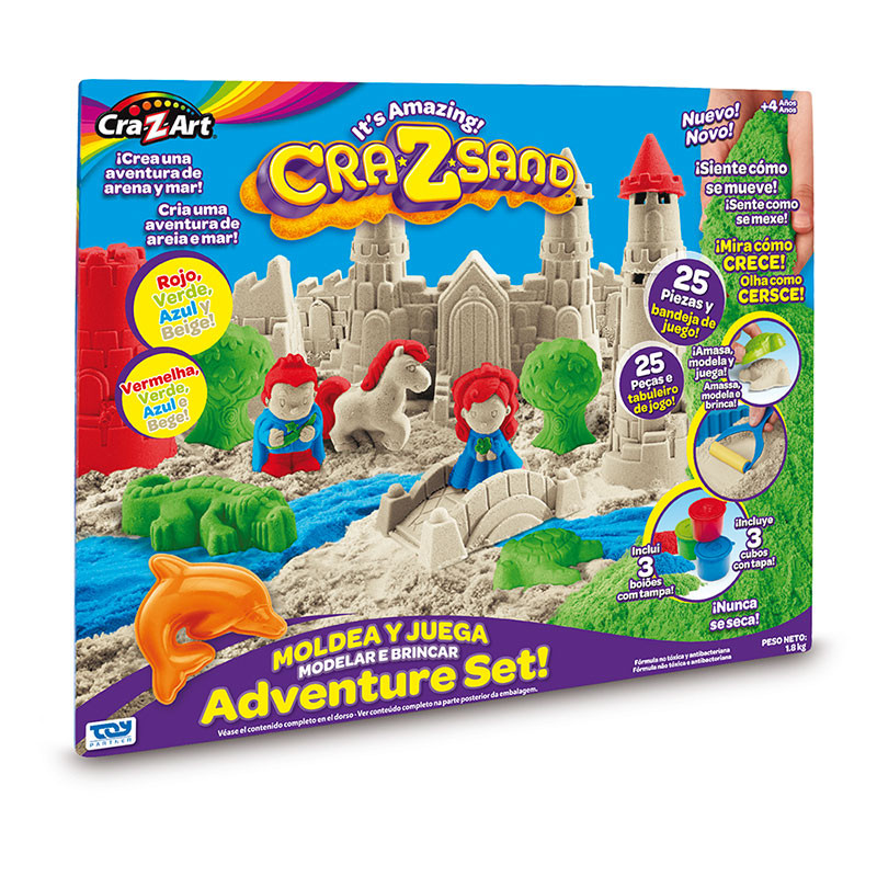 Cra-Z Sand Ultimate Deluxe Set Areia Mágica