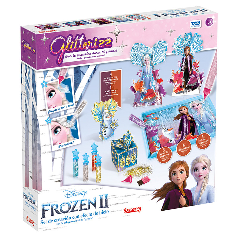 Frozen II glitterizz magical set