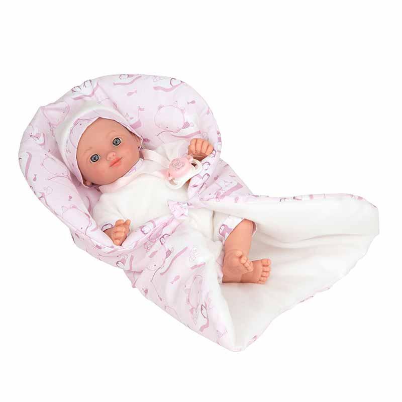 Elegance 28 cm Andrea rosa com manta